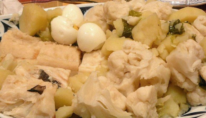 Bacallau con coliflor
