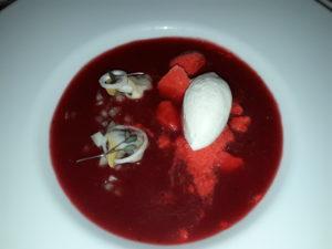 O Bloody Mary do Atrio leva berberechos de Pescaderías Coruñesas