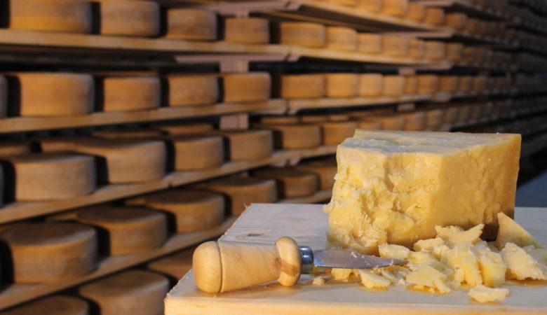 Secadoiro de queixos de Galmesano