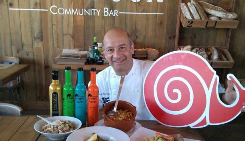 Pablo Viñas é o xefe de cociña do restaurante coruñés Next Door e o vicepresidente do Slow Food Compostela