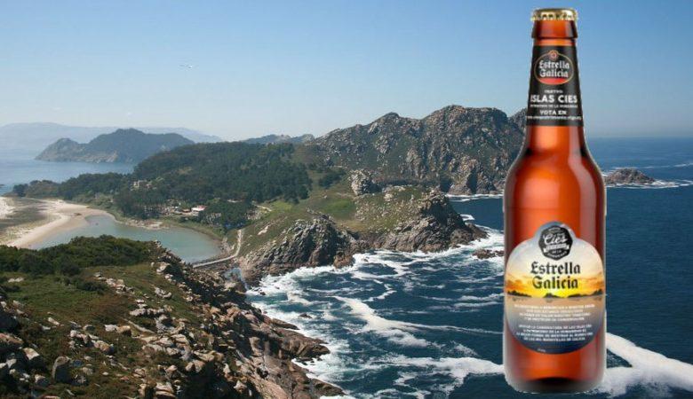 Estrella Galicia homenaxea ás Illas Cíes nunha edición especial