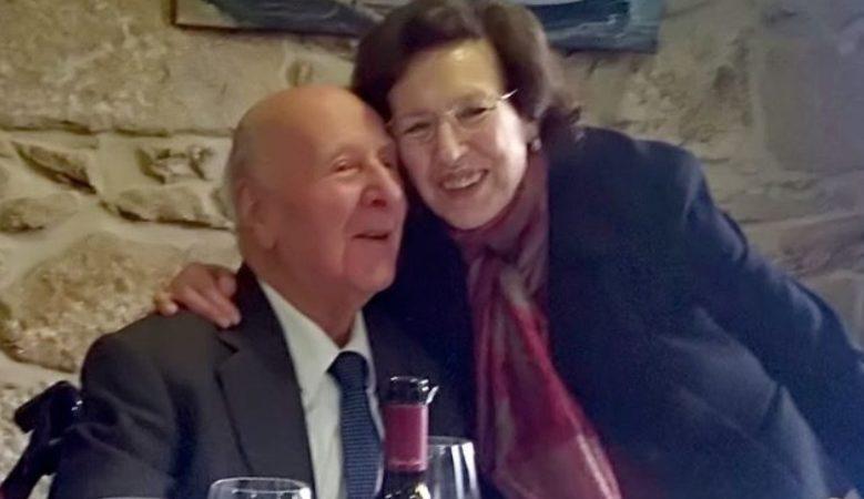 Jose Solla coa súa esposa Amelia González
