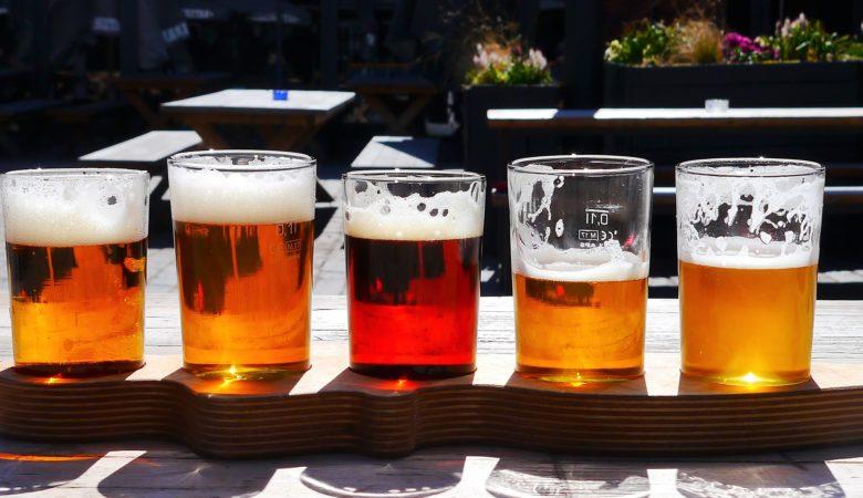 Diferentes tipos de cervexa