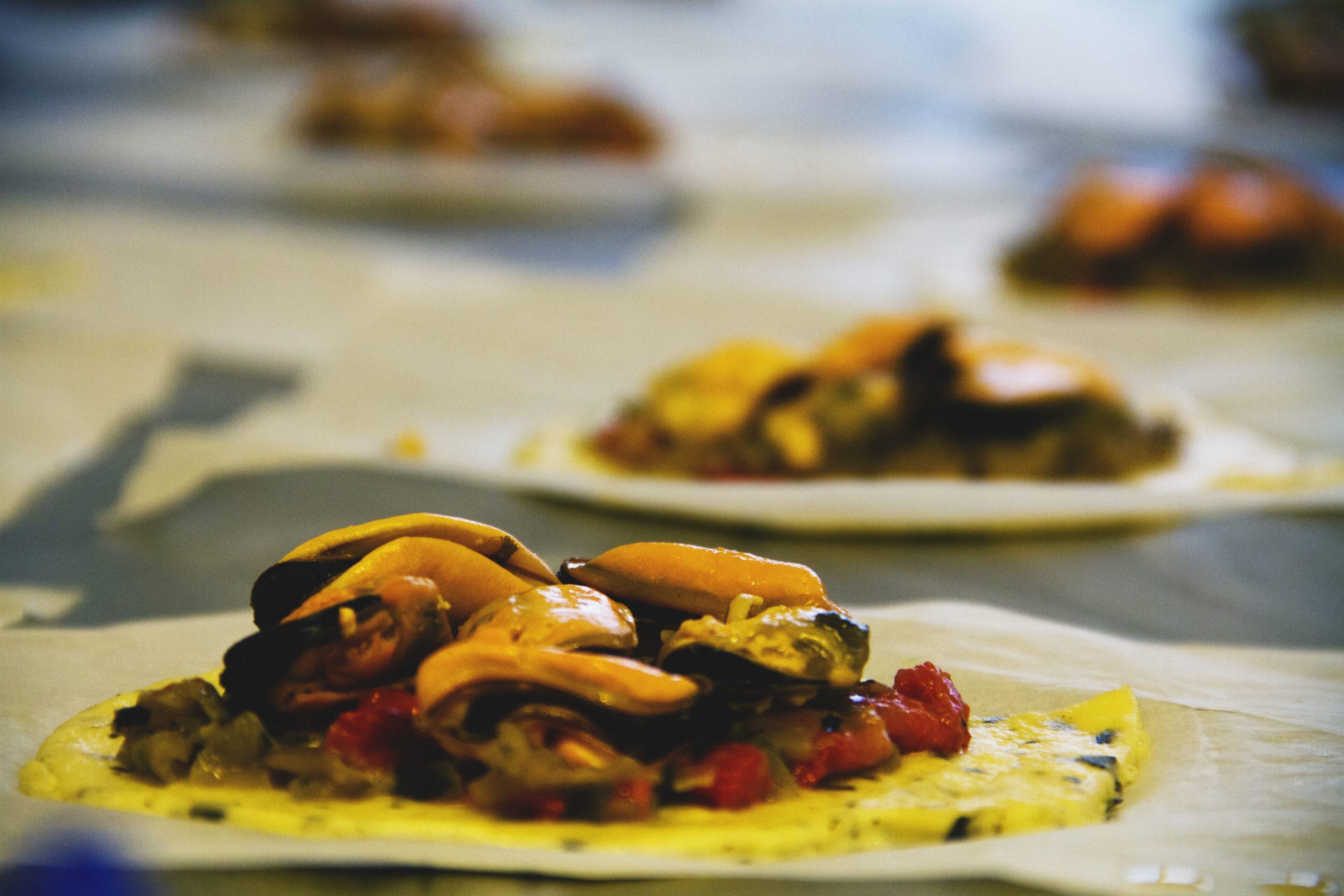 Empanada de mexillóns de Galuriña