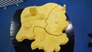 O ano pasado a Queixería Barral fixo o mapa de Galicia en queixo