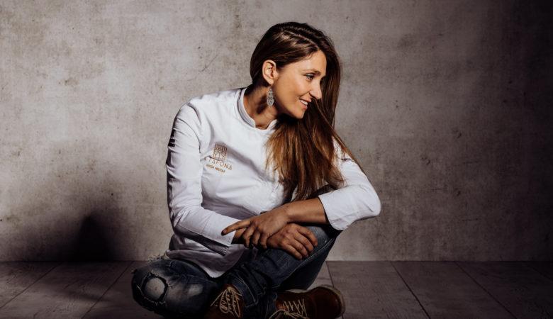 Lucía Freitas é a muller con máis visibilidade agora mesmo das cociñeiras galegas. / Foto: Meroafonso