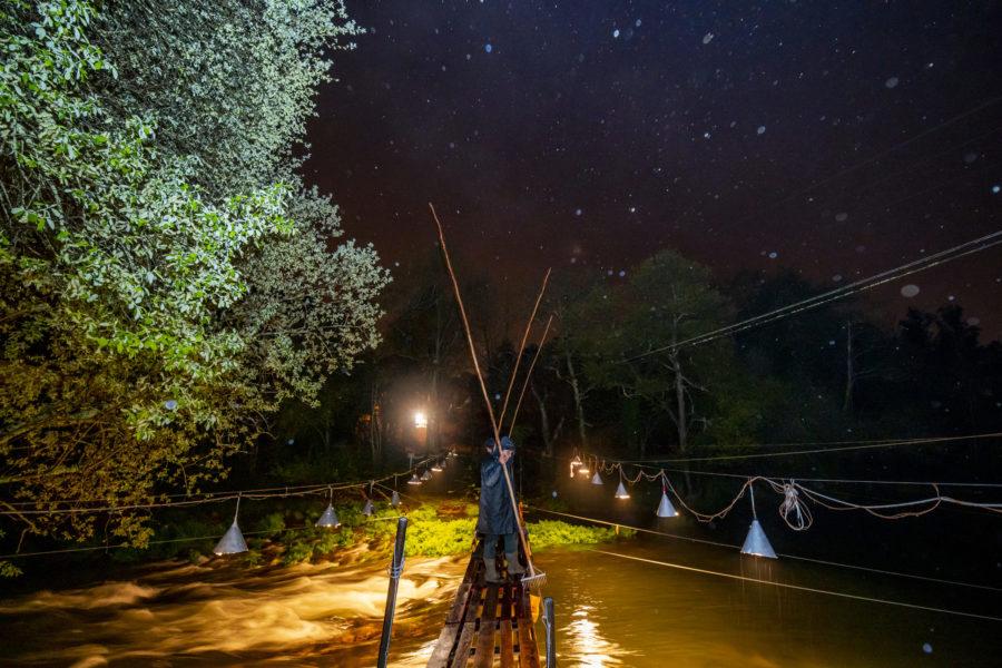 Ata catro pescadores poden estar nunha estacada