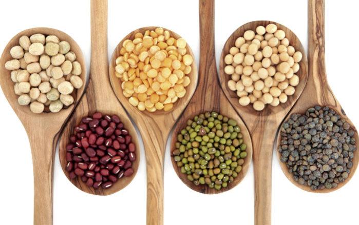 Os legumes teñen un tempo de almacenamento longo e unha boa achega nutricional.