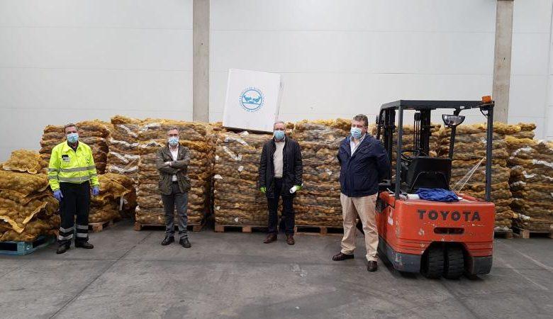 Os produtos foron entregados no concello ourensán do Pereiro de Aguiar.
