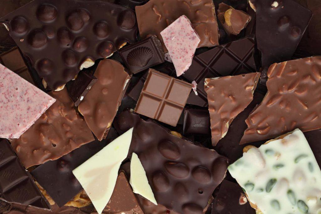 Chocolates diversos.