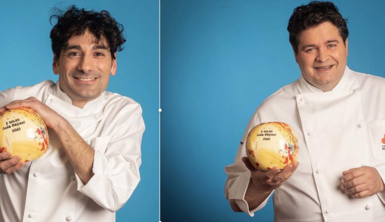 Martín Vázquez (Casa Marcelo) e Fernando Agrasar (As Garzas).